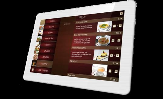 Restaurant Tablet Menu Android Tablet Hotel S Menu